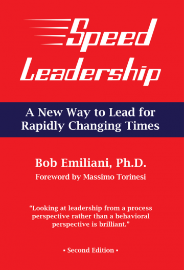 Speed leadership book cover