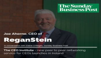 Joe Aherne - CEO ReganStein & Leading Edge Group