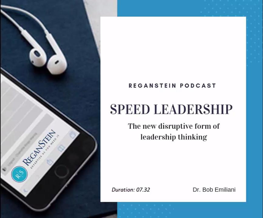 Speed Leadership Podcast Image