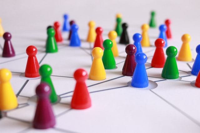 Pawns representing networking