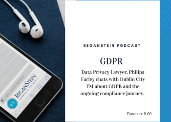 GDPR podcast title card