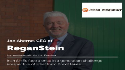 Joe Aherne ReganStein CEO posing for Irish Examiner opinion piece